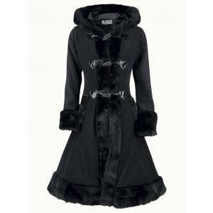 manteau gothique femme pas cher