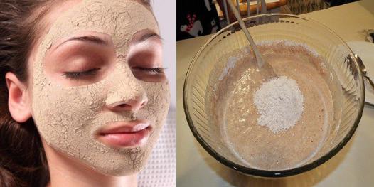 masque visage levure