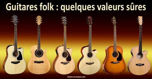 meilleure guitare folk
