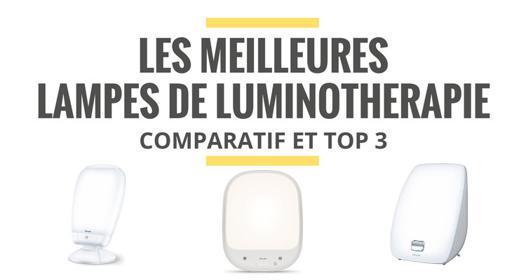 meilleure lampe luminothérapie