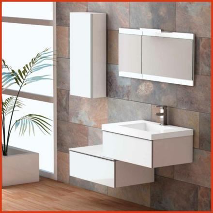 meuble salle de bain suspendu pas cher