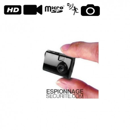 mini camera espion detecteur de mouvement