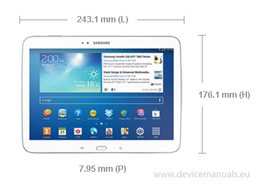 mode d'emploi tablette samsung galaxy tab 3