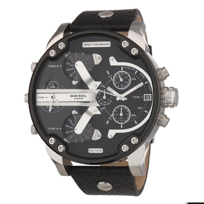 montre chronographe diesel