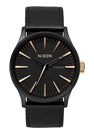 montre nixon homme bracelet cuir