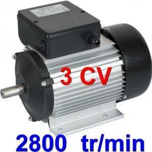 moteur electrique 3cv 220v