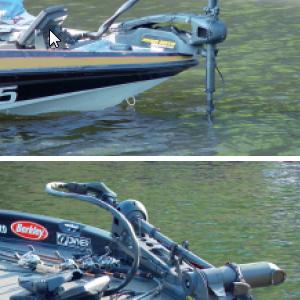 moteur electrique bateau avant