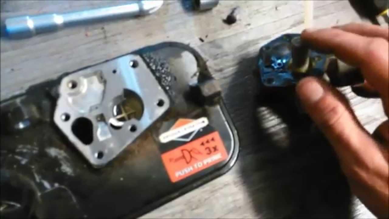 nettoyage carburateur tondeuse briggs stratton
