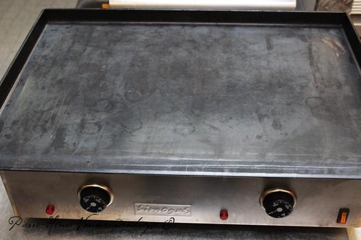 nettoyage plancha acier