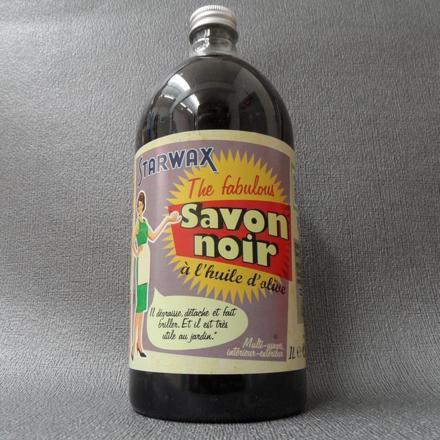 nettoyant savon noir