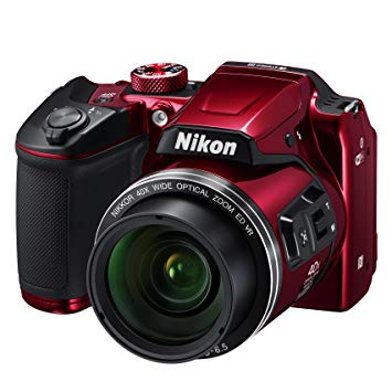 nikon coolpix rouge