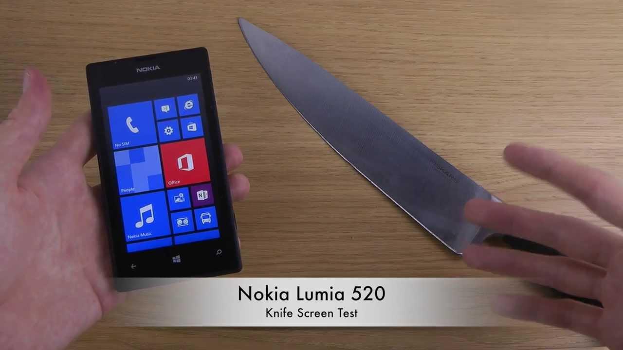 nokia lumia 520 test