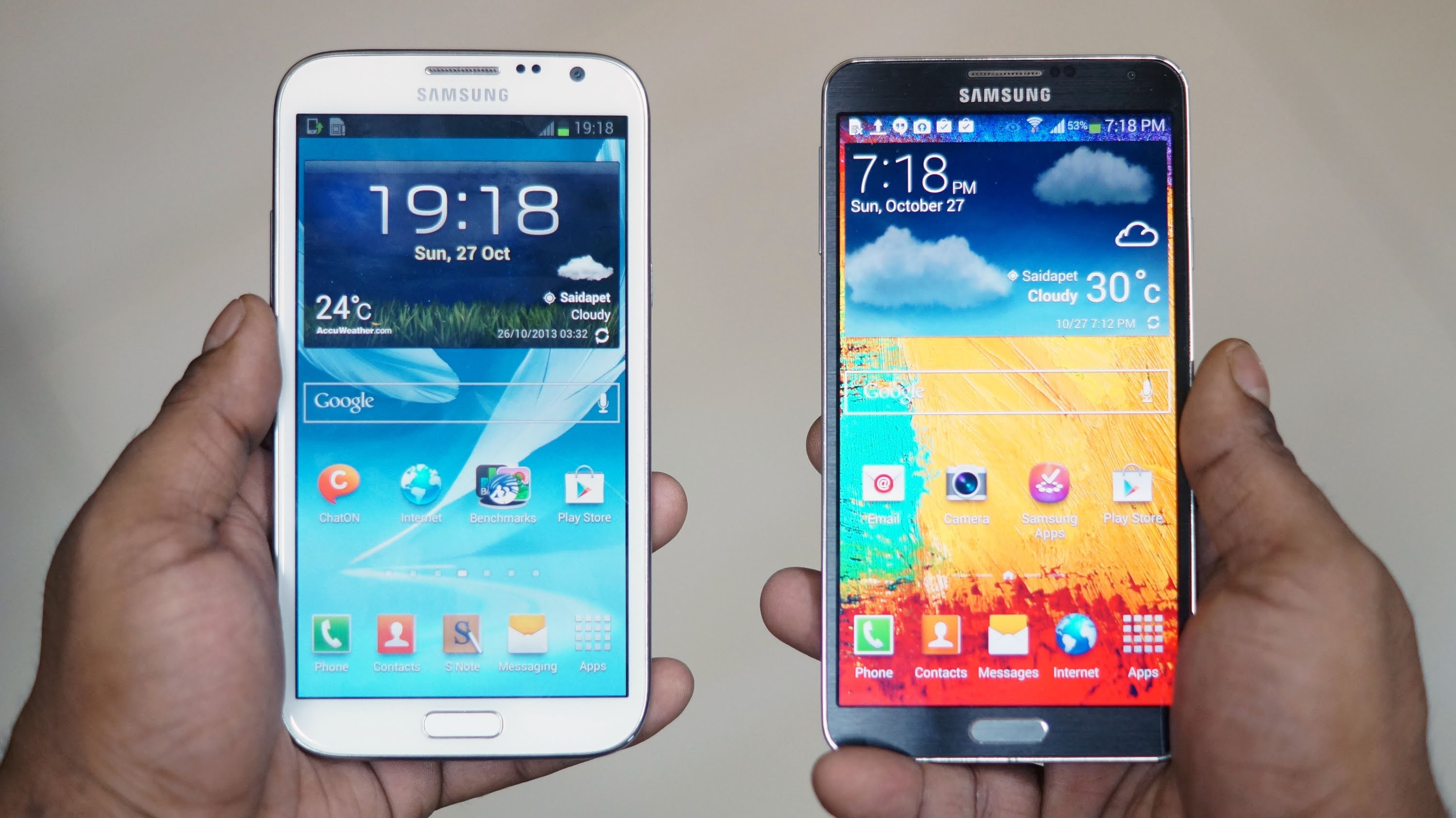 note 2 et note 3