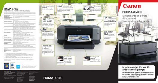 notice imprimante canon pixma