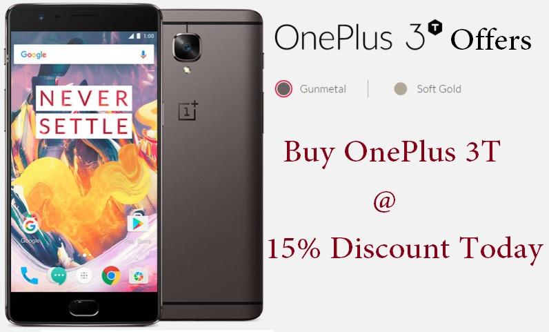 oneplus 3t promo