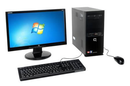 ordinateur de bureau compaq