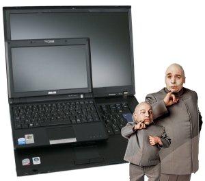 ordinateur portable 15 ou 17 pouces