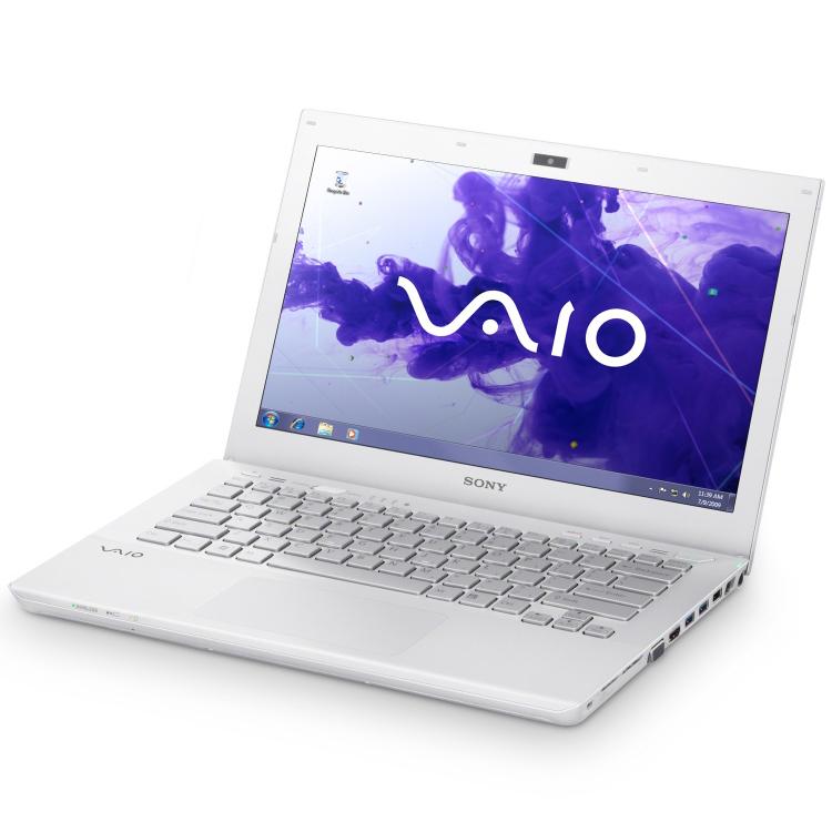ordinateur portable sony vaio blanc