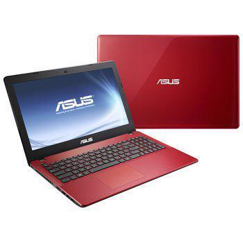 ordinateur rouge