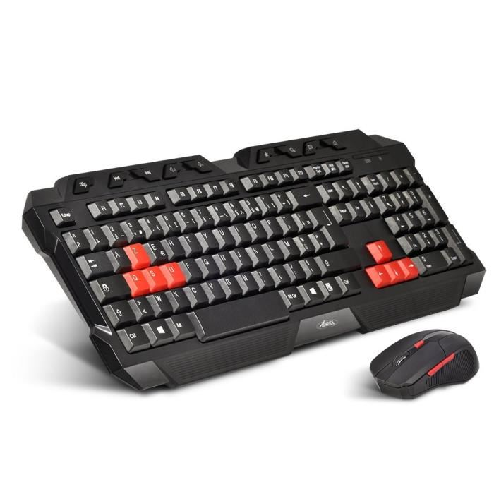 pack clavier souris gamer sans fil
