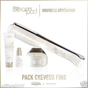 pack steampod 2.0 cheveux fins