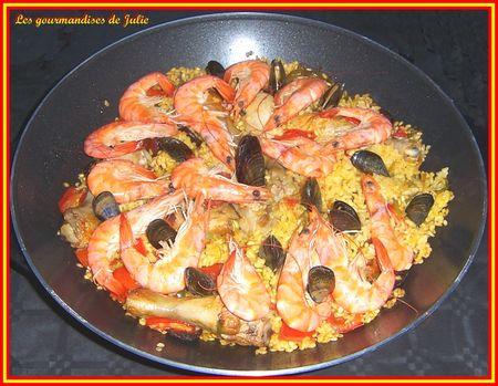 paella au wok électrique
