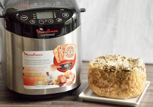 pain sans gluten machine à pain moulinex