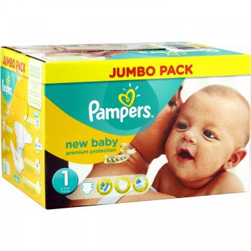pampers pas cher taille 1