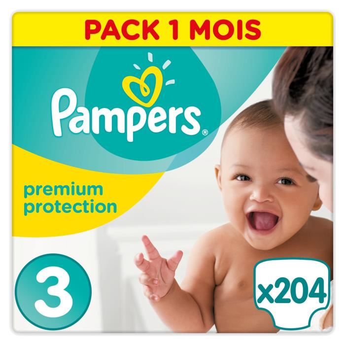 pampers taille 3