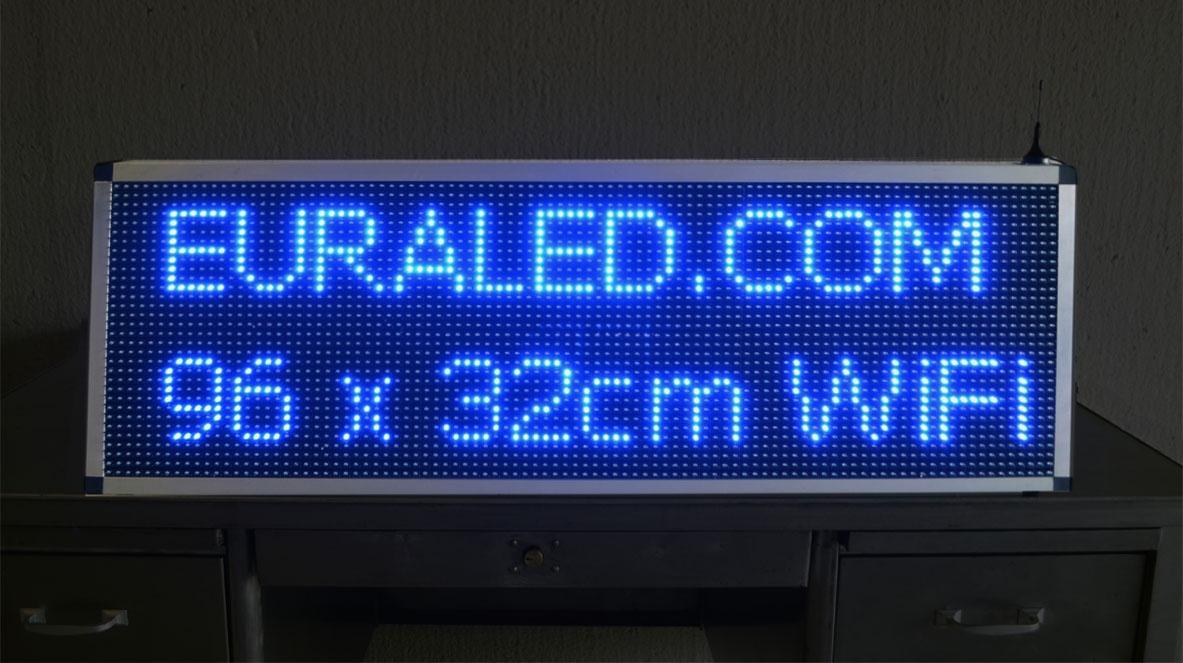 panneau lumineux led programmable