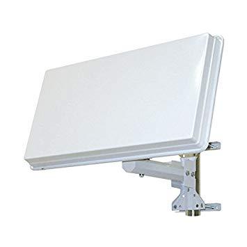parabole satellite plate