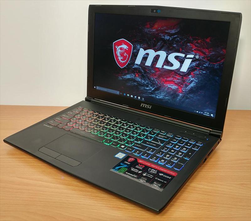pc portable msi gtx 1060