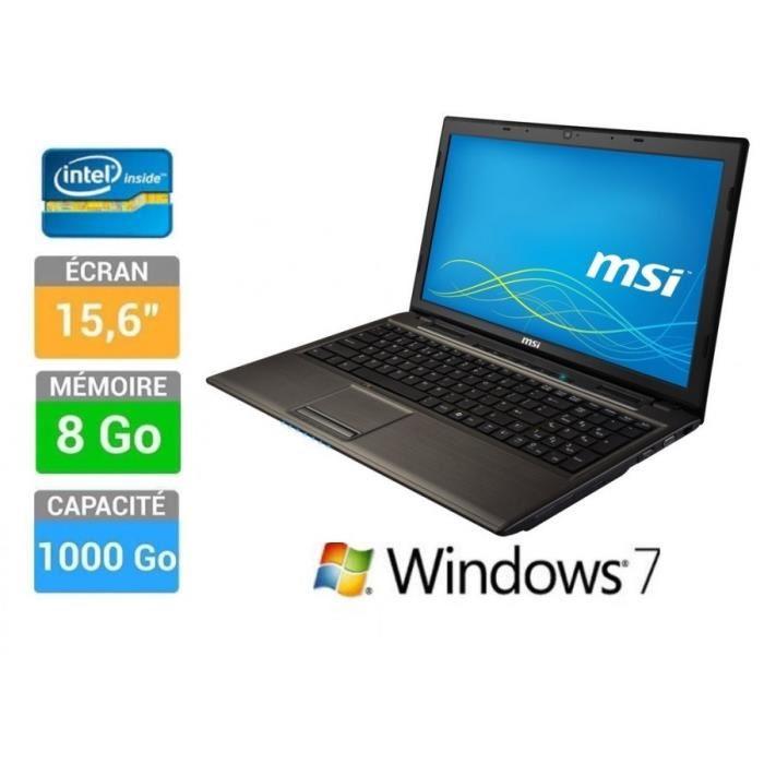 pc portable windows 7 pas cher