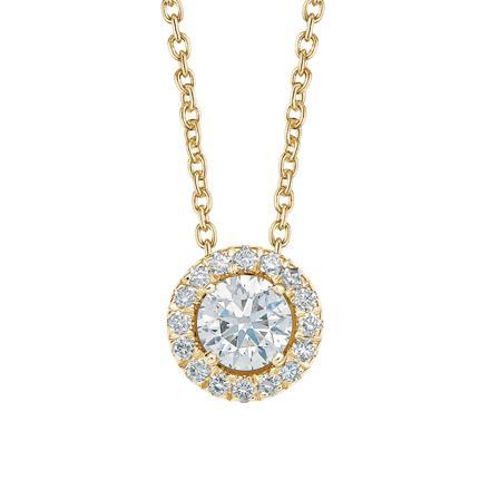 pendentif or et diamant