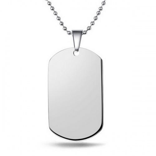 pendentif plaque militaire