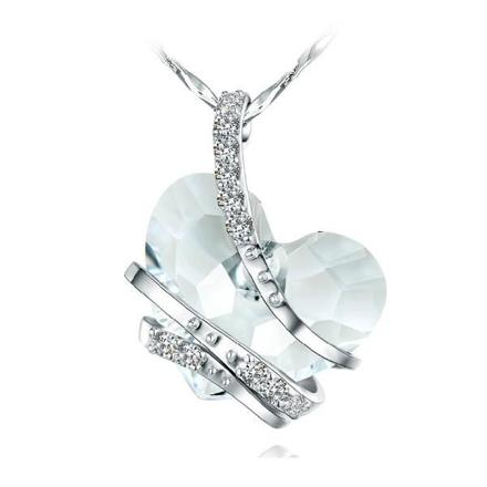 pendentif swarovski coeur