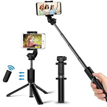 perche selfie trepied