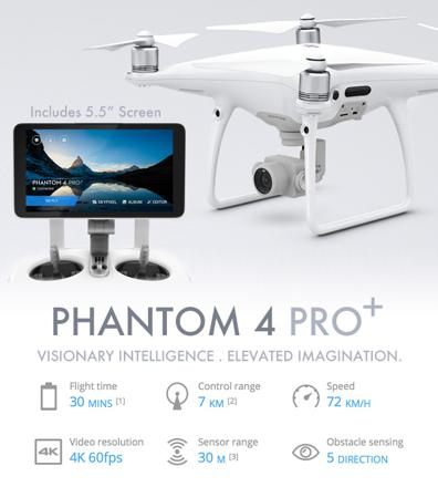 phantom 4 pro+