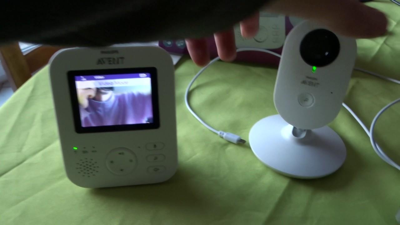 philips avent ecoute bébé vidéo fhss scd630 01