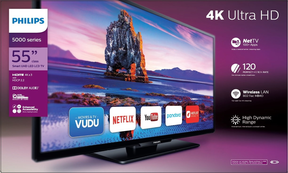philips tv 4k