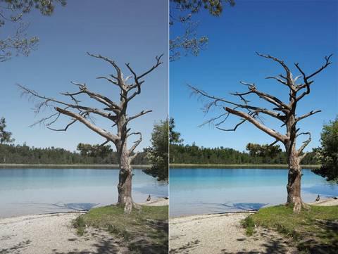 photo filtre uv
