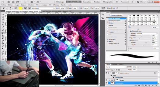 photoshop tablette graphique