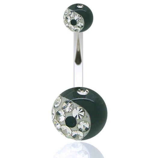 piercing nombril barre