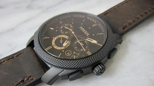 pile montre fossil
