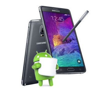 pilote galaxy note 4