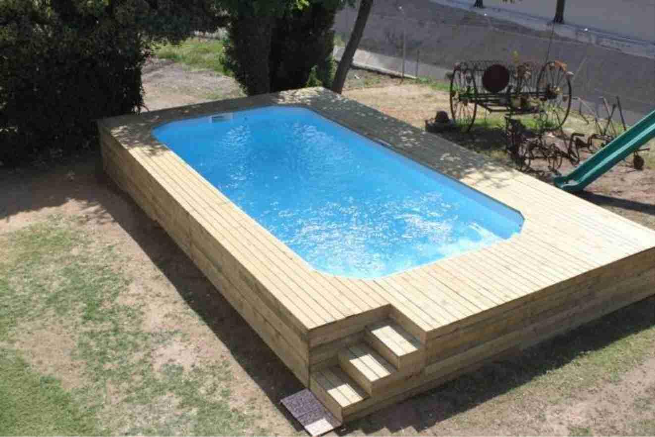 piscine coque rigide hors sol