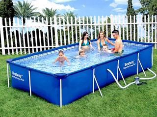 piscine hors sol tubulaire rectangulaire bestway