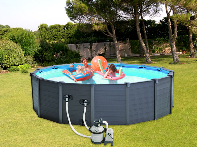 piscine intex hors sol ronde