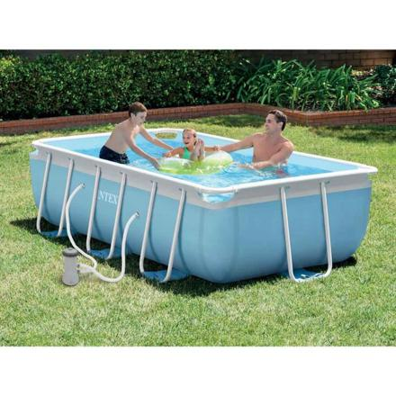 piscine rectangulaire intex tubulaire
