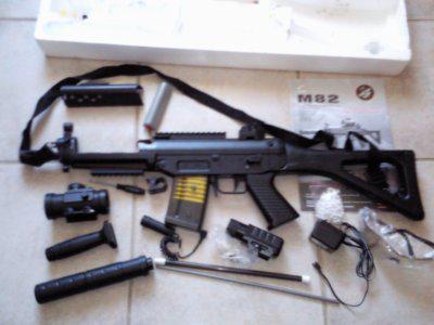 pistolet a bille a batterie